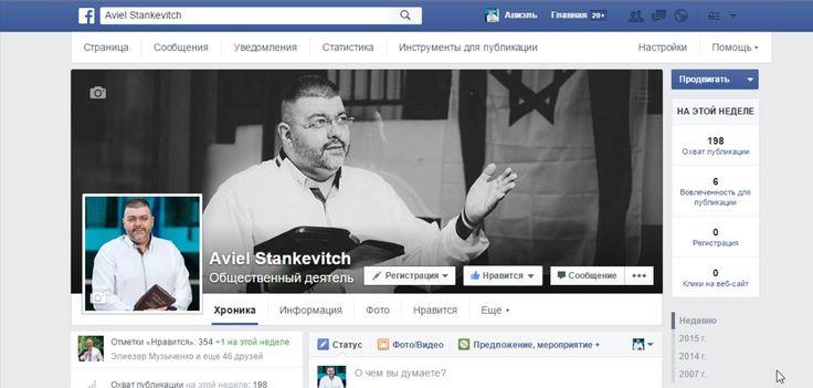 Страницы Фейсбук Измения при загрузке публикаций и картинок на страницах...