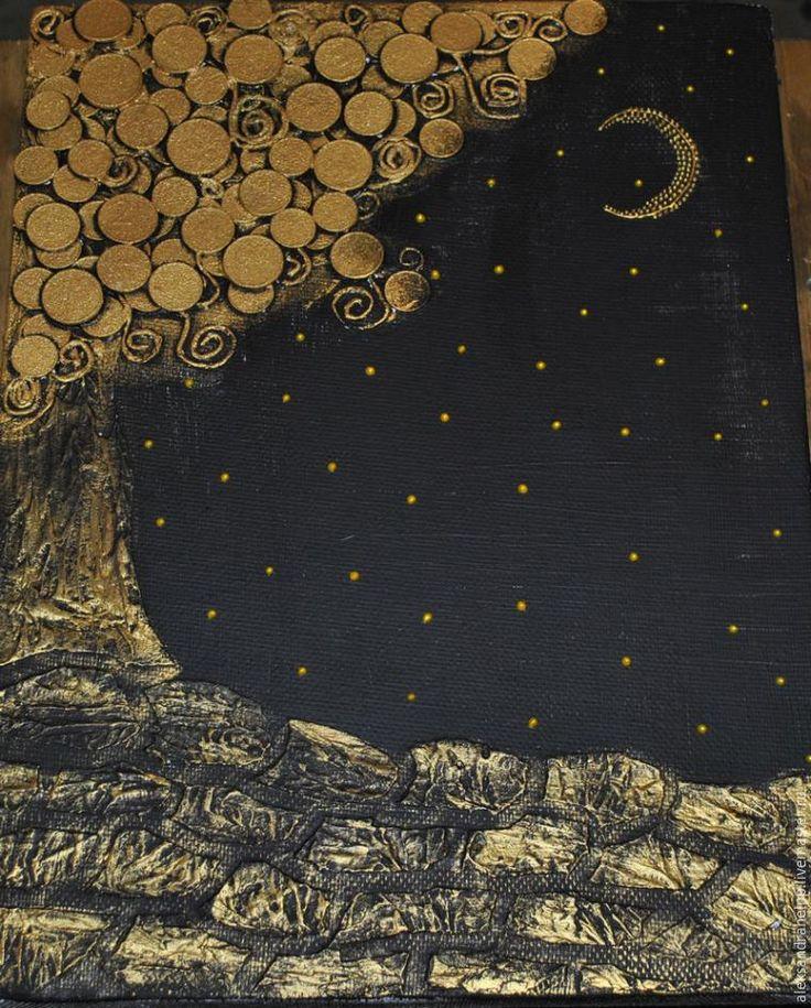 """Мастер-класс: создаем панно """"Денежное дерево"""" - Ярмарка Мастеров - ручная работа, handmade"""