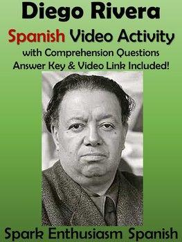 Diego Rivera Spanish Video Activity - Biography