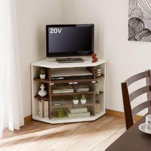 テレビ台・リビング収納 … コーナーテレビ台 通販 (家具・インテリア ... ハイタイプコーナーテレビ台 ダークブラウンの木目調×ホワイトのツートンカラーがモダンな雰囲気。ダイニングや寝室使いとして人気のハイタイプです。