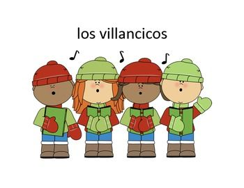 Spanish Navidad-Christmas Presentation and student activit