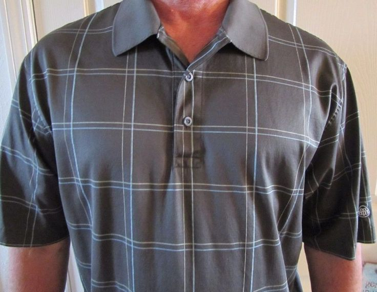 Brooks Brothers Mens Polo-Country Club Performance Knit Dark Green Block Sz L #BrooksBrothers #Casual