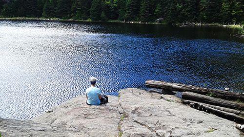 Rando Relax au lac Spruce Crédit photo : M.-C. Grégoire