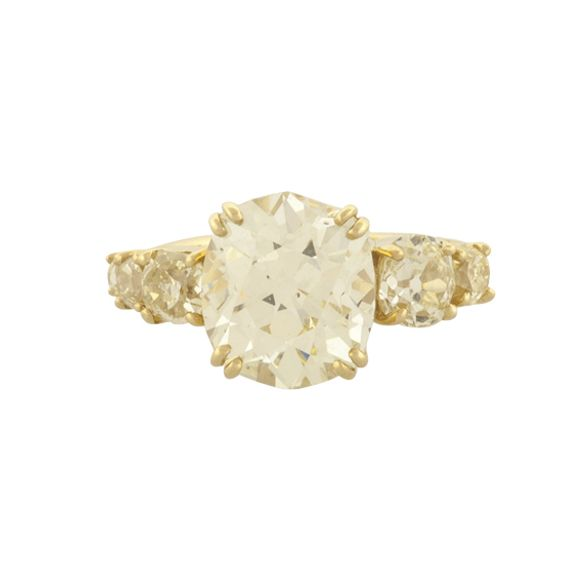 14kw Marquise 6-Prong V-End 1.00ct Setting