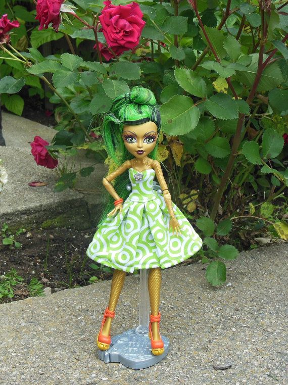 Dress for Monster doll MH fashion for doll clothes by LussiFashion