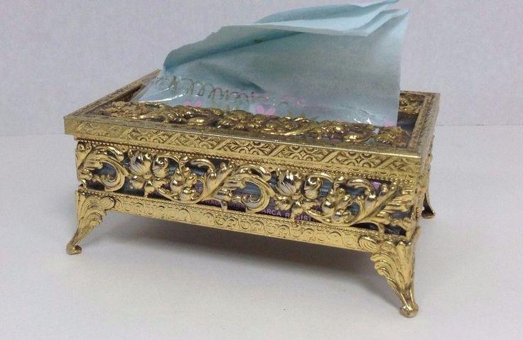 Bathroom Tissue Box Holders MidCentury in Home & Garden, Bath, Tissue Box Covers | eBay