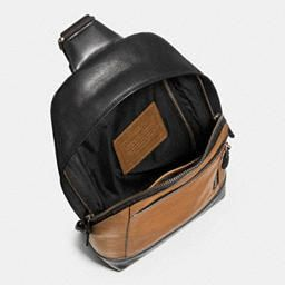 Manhattan Sling Pack in Sport Calf Leather - Alternate View A1