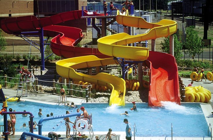 The best kind of parks are water parks!