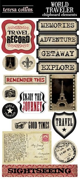 World Traveler | Teresa Collins Designs