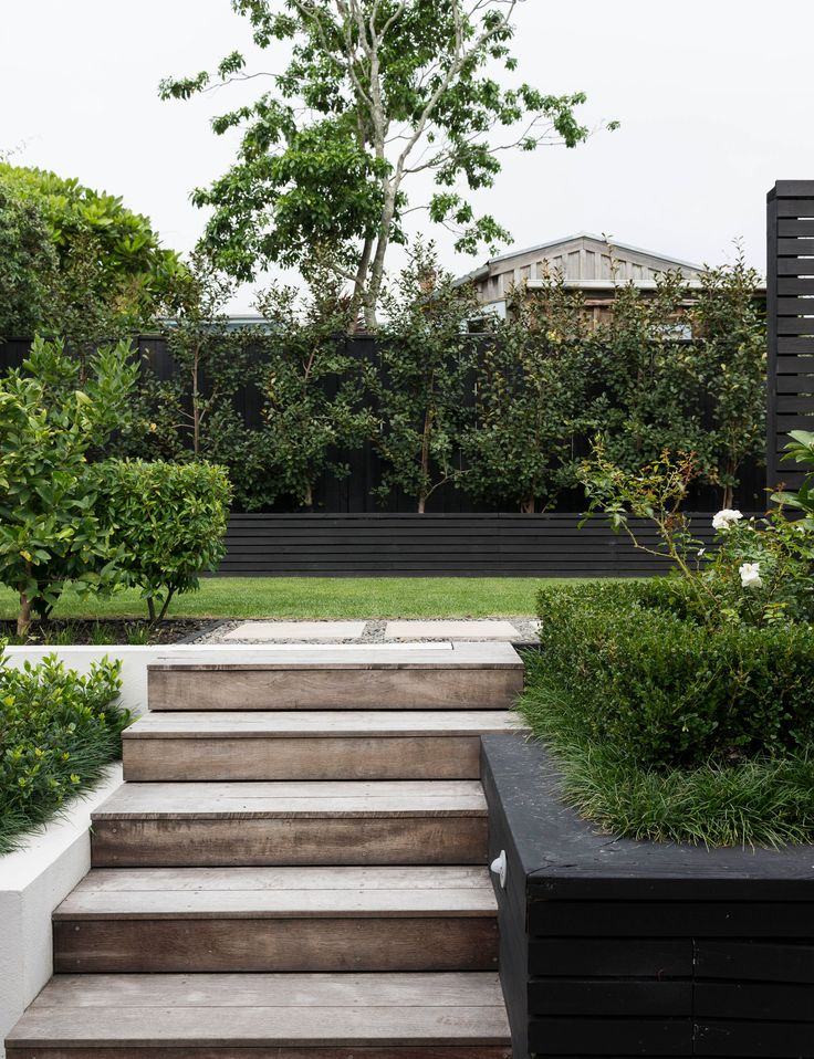 A steep garden is an entertainer's dream thanks to clever landscaping