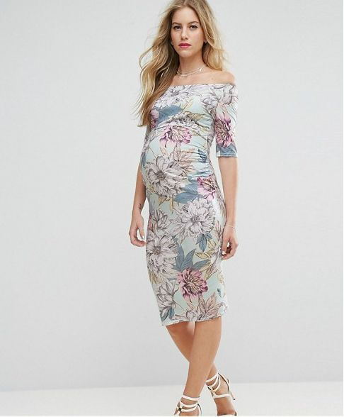 Beautiful dresses to wear as a wedding guest spring for Wedding guest pregnancy dresses