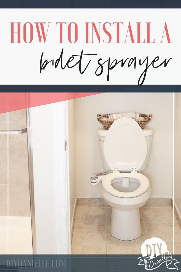 How To Install A Bidet Toilet Seat Bidet Bidet Toilet Bidet
