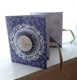Parisienne Blue Keepsake Book by: LouLou14