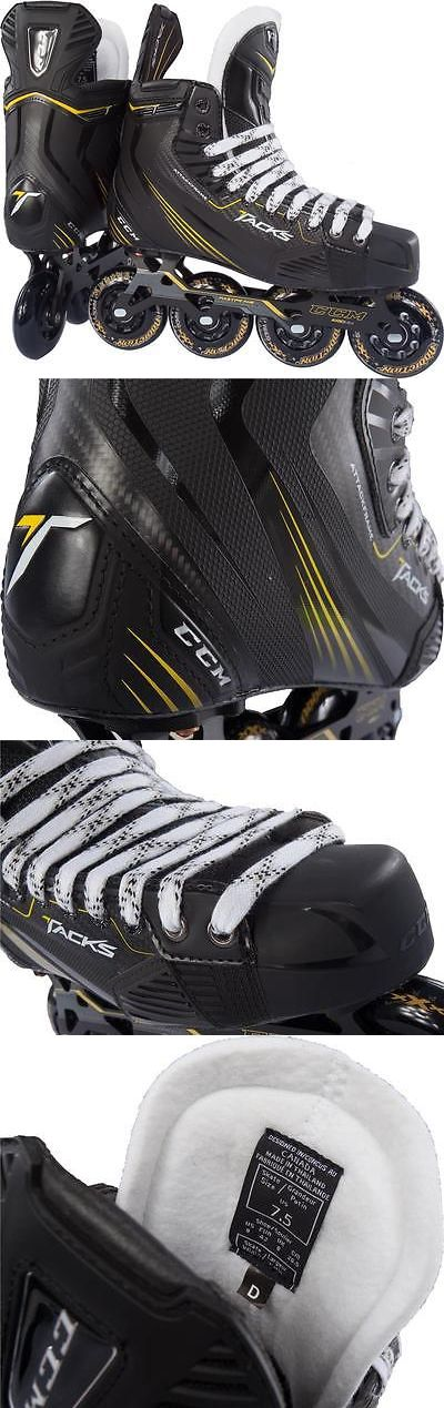 Other Hockey Sticks and Accs 20859: New Ccm Tacks Inline Skates Size - Senior Tacks Top Model Free Shipping BUY IT NOW ONLY: $510.0