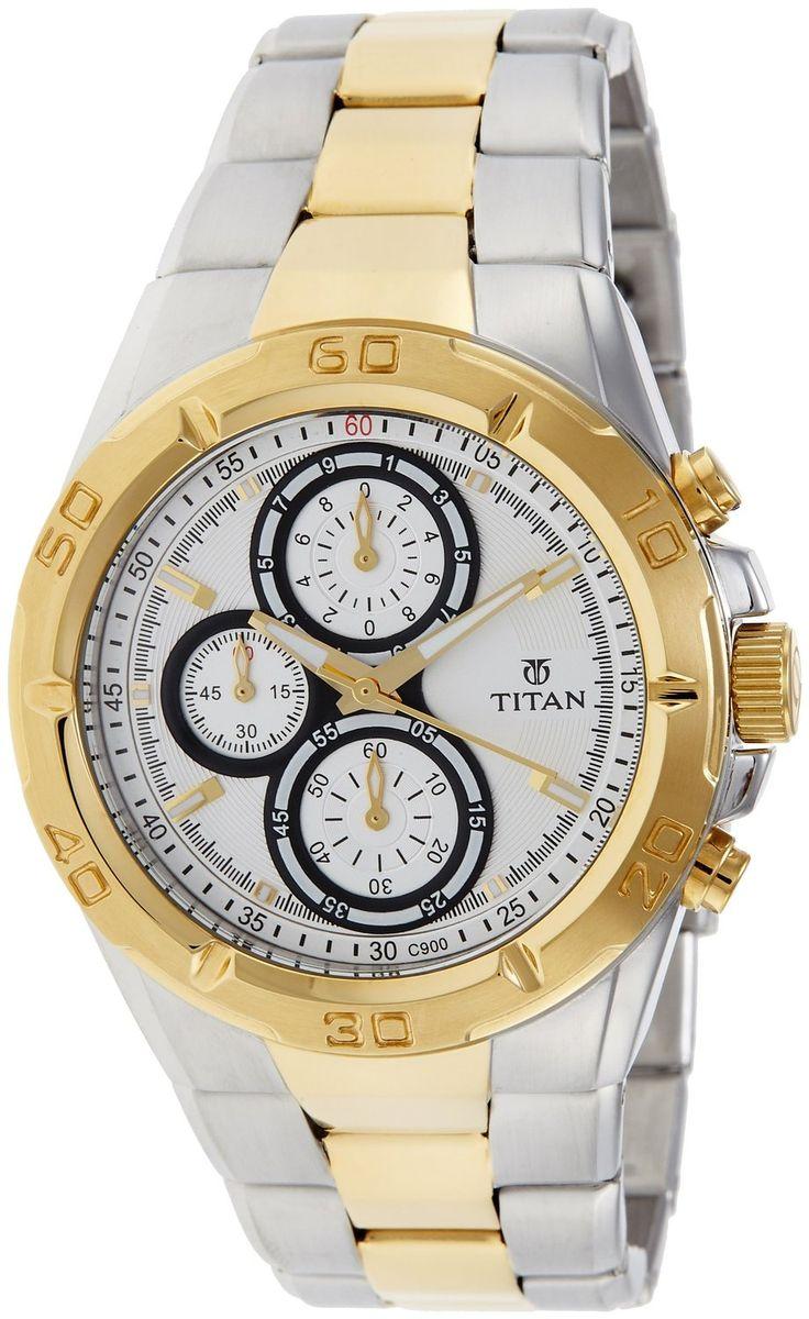 Titan Regalia Chronograph Analog Silver Dial Men's Watch - NE9308BM01J #Titan #Regalia #Chronograph #Analog #Silver #Dial #Men's #Watch #NE9308BM01J Price:INR 8,495.00 --------------------------------------- Sale:INR 5,999.00  --------------------------------------- You Save: INR 2,496.00 (29%) FREE Delivery