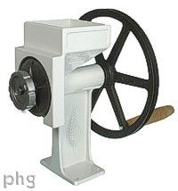 This is the best hand-powered wheat grinder out there. Just in case my electric one doesn't work. SHTF.