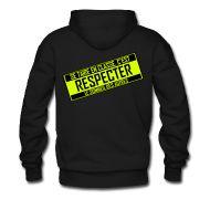 Sweat-shirts ~ Sweat-shirt à capuche Homme ~ se taire en classe, c'est respecter le sommeil des autres