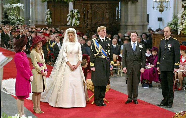 Wedding Máxima and Willem-Alexander, 2002