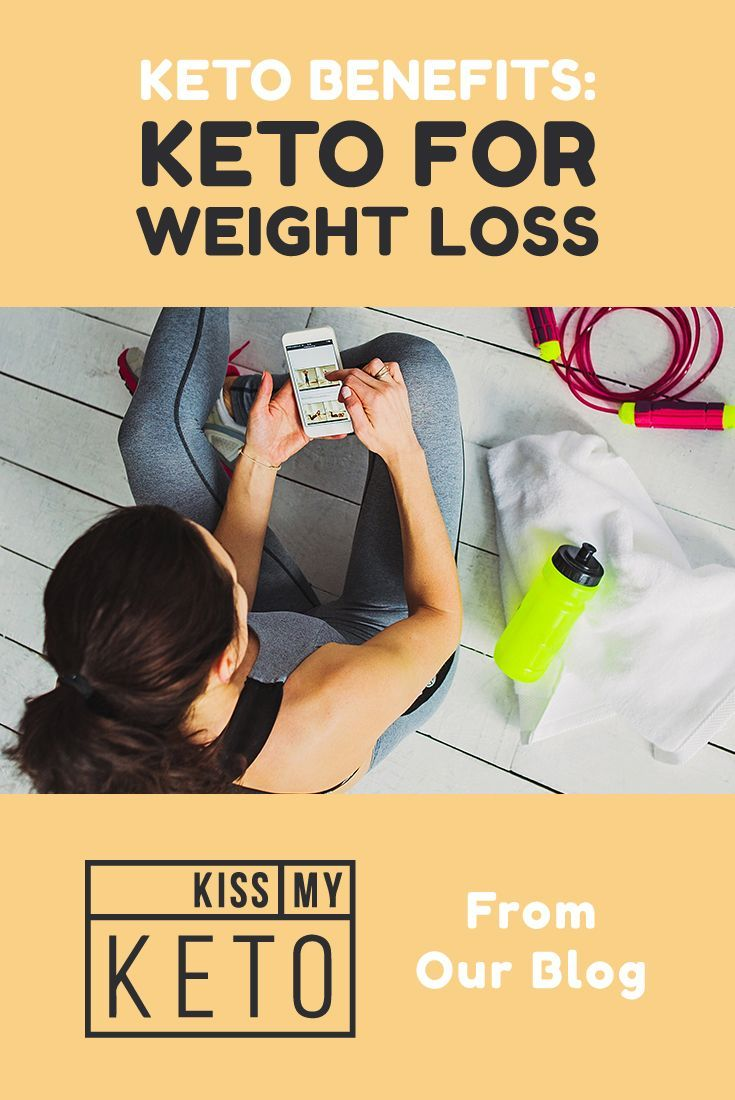 Weight loss is a the number one ketosis benefit and the main reason why keto diets are so popular right now. These low-carb, high-fat diets put your body into a fat-burning state known as ketosis. When you're in ketosis, your body burns fat for fuel instead of storing it as it normally does. The result of this switch is rapid weight loss you rarely see with other diets. #keto #weightloss #kissmyketo #health