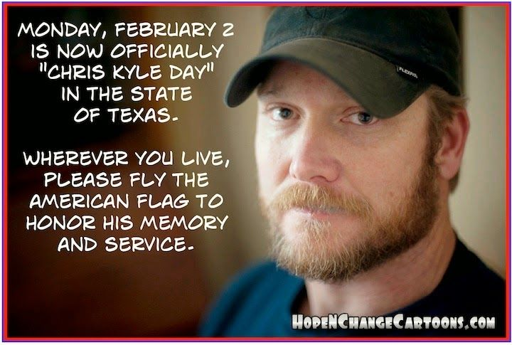 chris kyle day | PawPaw's House: Chris Kyle Day
