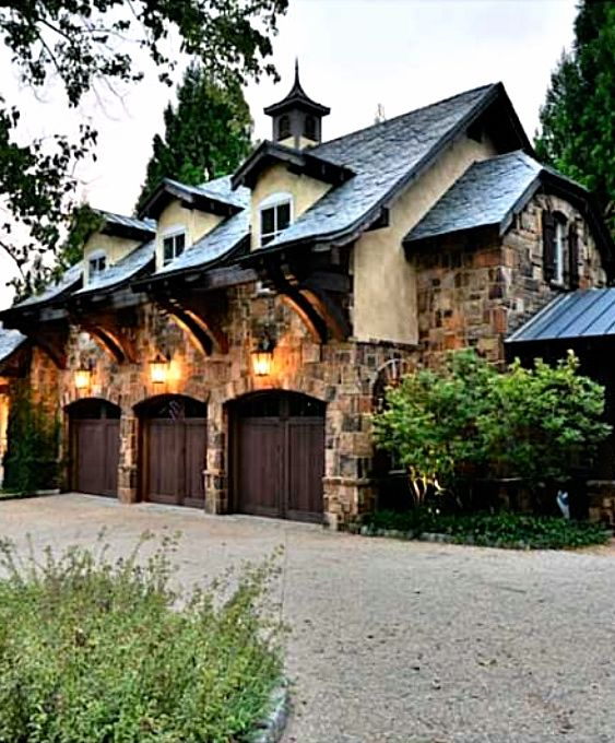 17 Best Images About Detached Garage & Porte Cochere On
