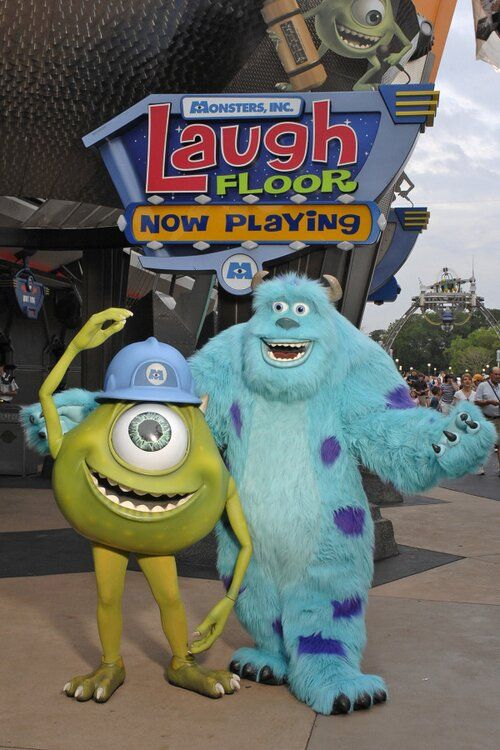 Have you tried texting your favorite joke to the Monster's Inc. Laugh Floor at Magic Kingdom