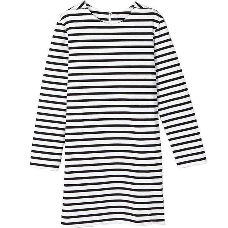 Split Front Zipper Up Customize 9/10 Sleeves Stripped Dress - OACHY The Boutique #customize, #front, #zipper, #boutique, #oachy