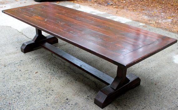 Custom 12ft (144 inches) Rustic Farmhouse Table/ Farm Table
