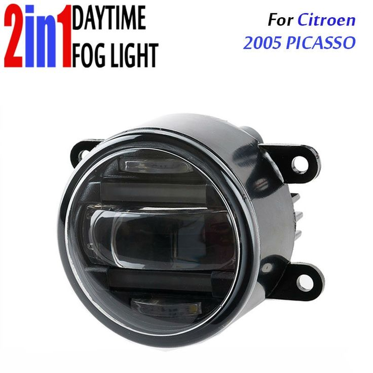 "116.10$  Watch here - http://alifr1.worldwells.pw/go.php?t=32790791832 - ""for Citroen Picasso 2005 3.5"""" 90mm Round LED Fog Light Daytime Running Lamp Assembly LED Chips Fog Lamp DRL Lighting Lens"""
