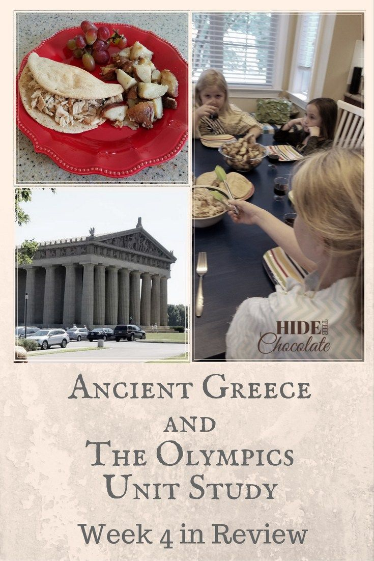 ANCIENT GREECE UNIT STUDY - LEARNING WELL COMMUNITY