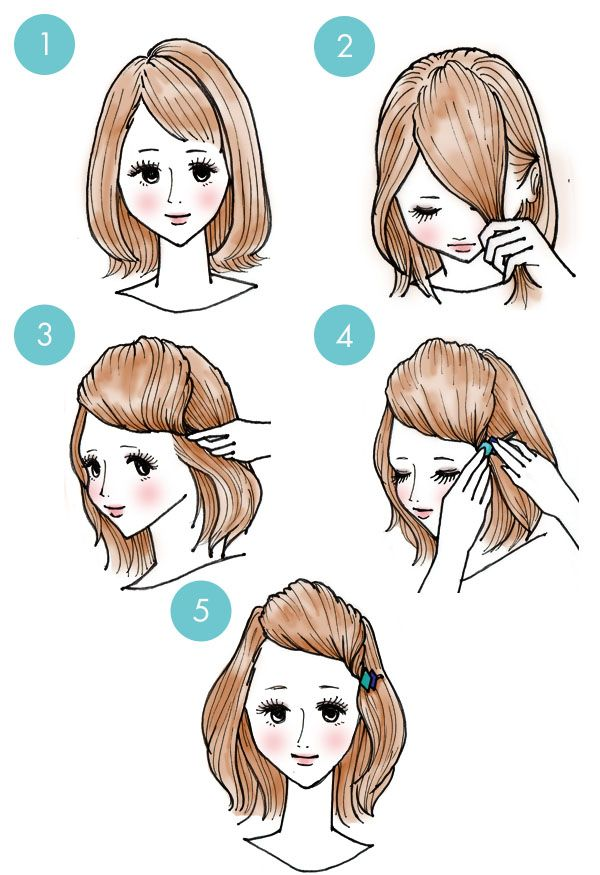 quick hairstyle in 3 minutes- wonderful diy7