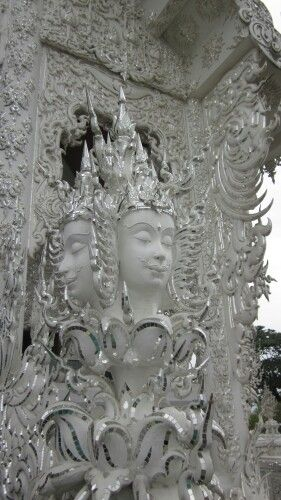 Wat Rong Khun or White Temple, Chiangrai - Thailand