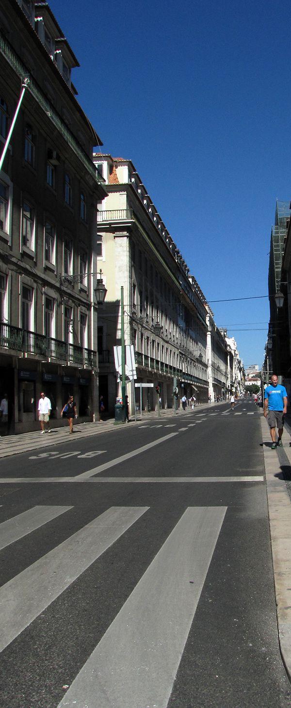 Rua Áurea na Baixa.