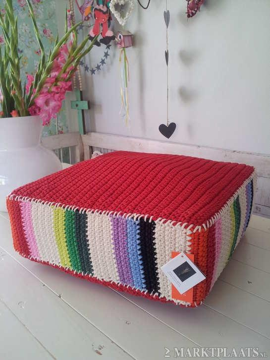 no sew floor pillow pouf instructions
