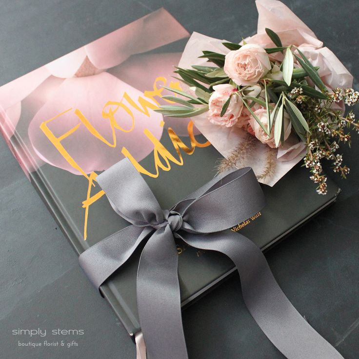 Flower Addict Book & Flowers by Simply Stems Boutique Florist for Mothers Day Gift Ideas