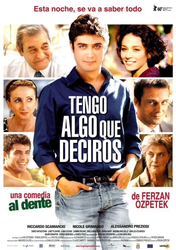 Tengo Algo Que Deciros 1 1 2011 Películas Completas Películas En Línea Gratis Cine Italiano