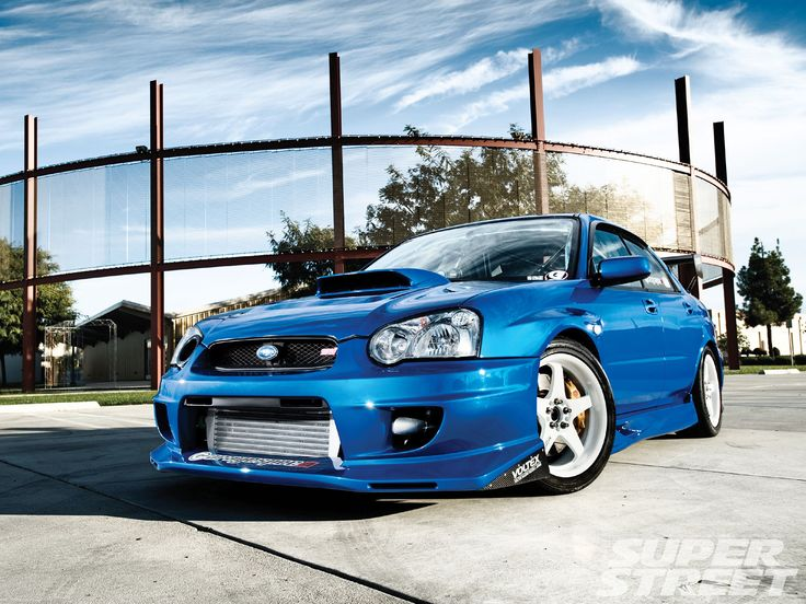 2004 Subaru WRX STi - such a fun car to drive