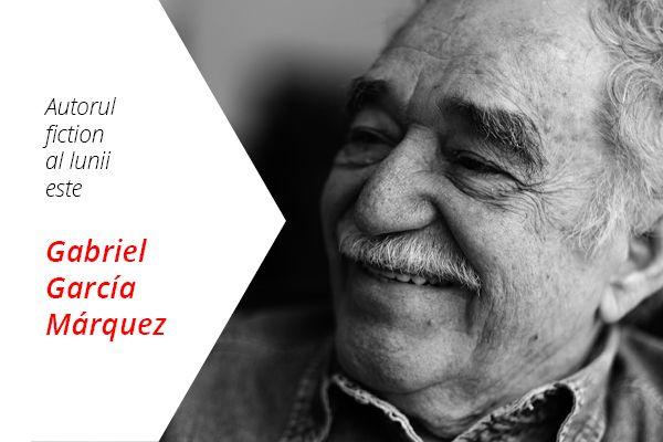 Autorul de ficțiune al lunii martie 2016 este Gabriel García Márquez.