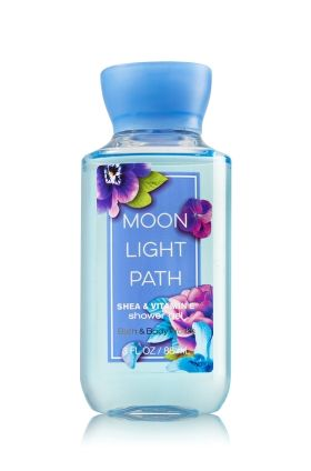 Bath and Body Works- Moonlight Path shower gel. This product has such a nice calming scent that i prefer to use it when I'm showering before bed. 5/5.