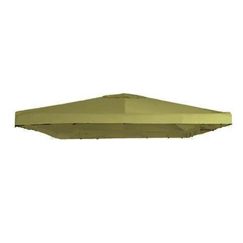 "Garden Winds Signature Series 10 x 10 Single Tiered Replacement Gazebo Canopy - SAGE by Garden Winds. $69.99. THE MOST HIGHLY RATED UNIVERSAL CANOPY ON THE MARKET!!!. Industry leading 350-Denier fabric (on average 25% thicker than original canopies). Do not settle for a lesser grade inferior universal canopy that may be $5 or even $10 cheaper.. The outer perimeter of the main canopy is 120"" x 120"".. Ventilated top allows for wind gusts.. Velcro straps allow eas..."