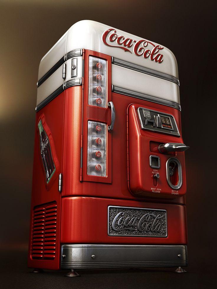 Coke Machine | Estúdio Ícone