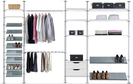 9 best images about ikea stolmen ideas on pinterest wardrobe storage clothing storage and. Black Bedroom Furniture Sets. Home Design Ideas