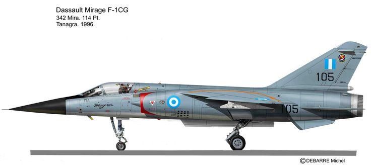 Mirage F-1 CG 114FW