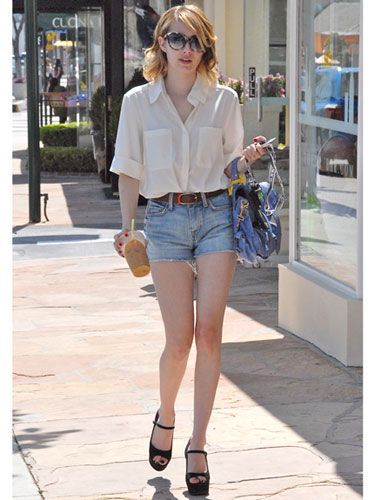Celebrity Summer Style - Casual Summer Style Ideas 2012 - Marie Claire