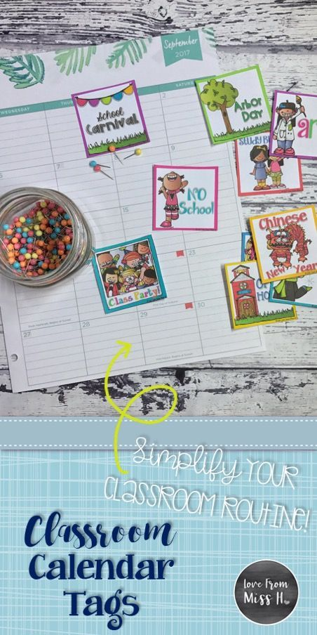 Calendar Ideas For Elementary : Best tpt classroom decors images on pinterest