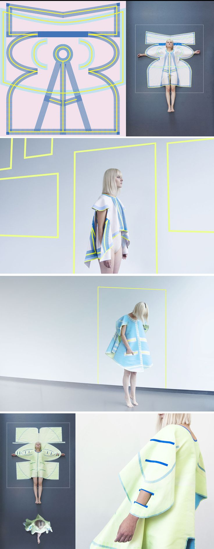 Vera De Pont's Pop Up Clothing Is Assembled Without Stitches.