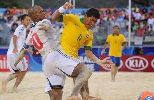 Blog Esportivo do Suíço:  Brasil cai em grupo de Espanha, México e Irã na Copa do Mundo de Futebol de Areia
