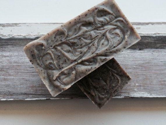 Coffee Scrub Soap. Handmade. Natural Soap. by PureHavenNaturals