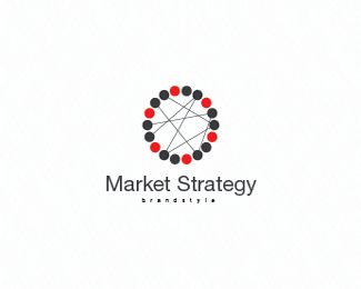 Market Strategy Logo Design