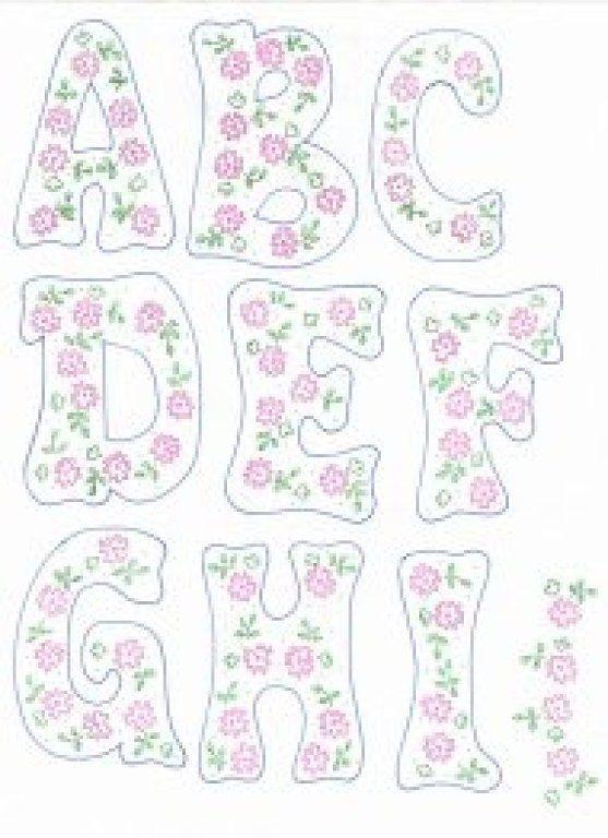 17 mejores ideas sobre Moldes Letras Para Imprimir en Pinterest ...